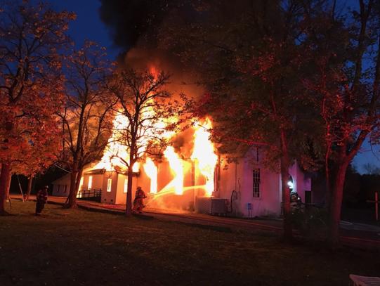 Shiloh Church fire