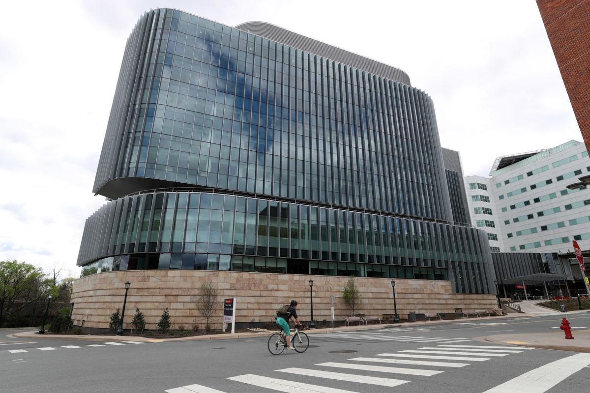 UVa Medical Center tower