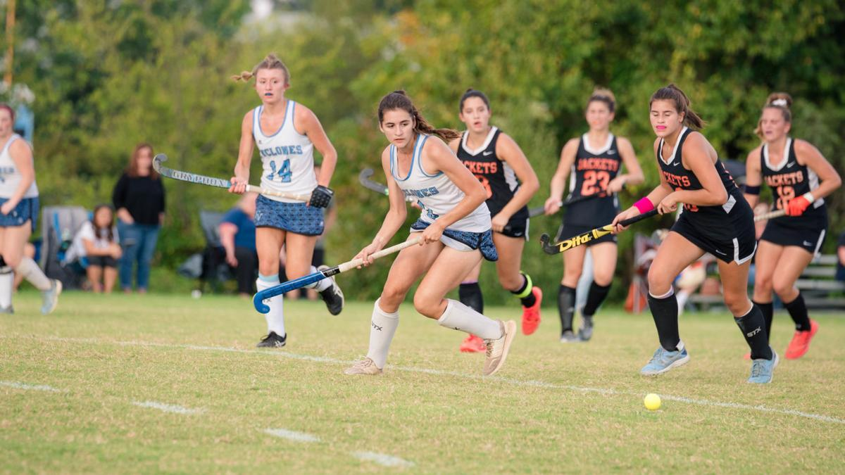 Field hockey view from the east