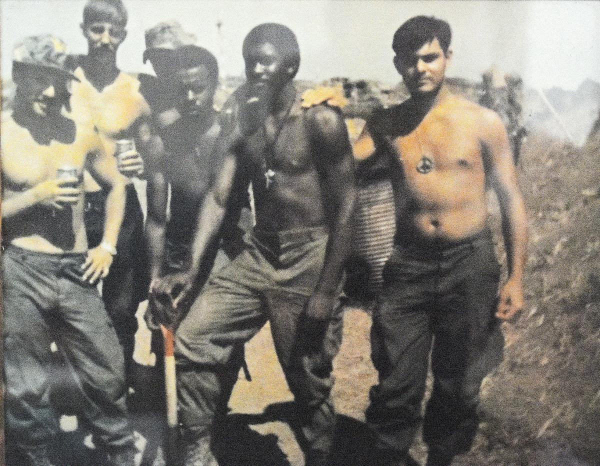 John Miles' Vietnam soldiers photo