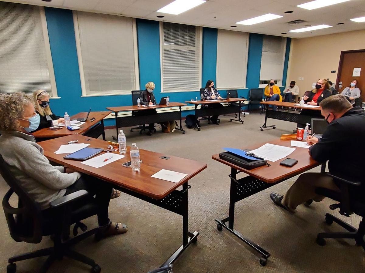 Deborah Desilets addresses Culpeper School Board