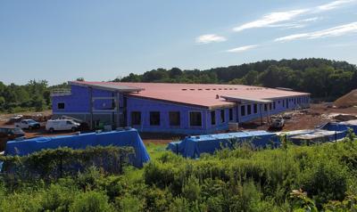 Culpeper CTE school construction progress