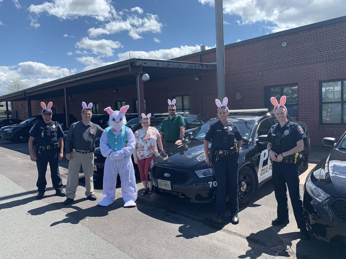 Easter bunny visits Culpeper