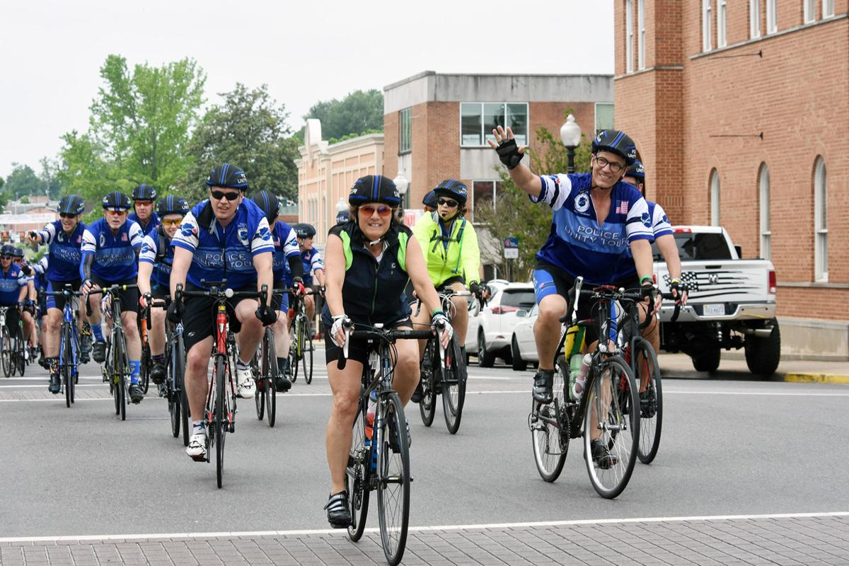 Cyclists visit downtown Culpeper