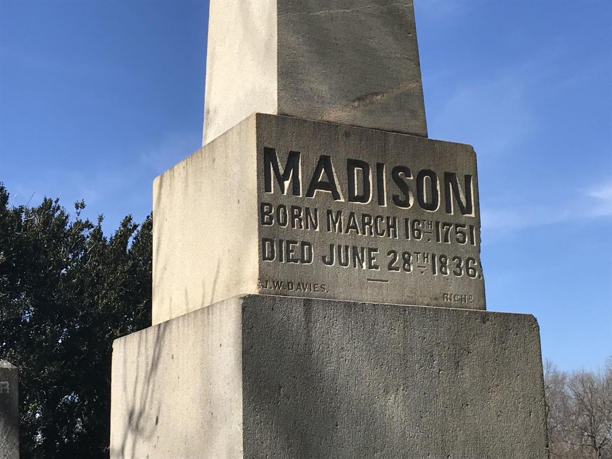James Madison Montpelier stone