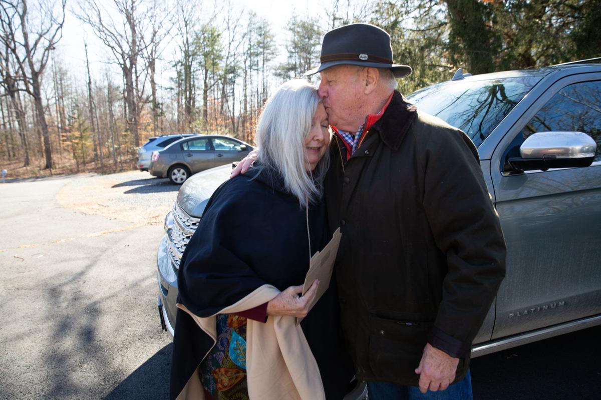 Bud Hall and Diane Logan