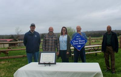 Haught family Culpeper 2020 Clean Water Farm Award