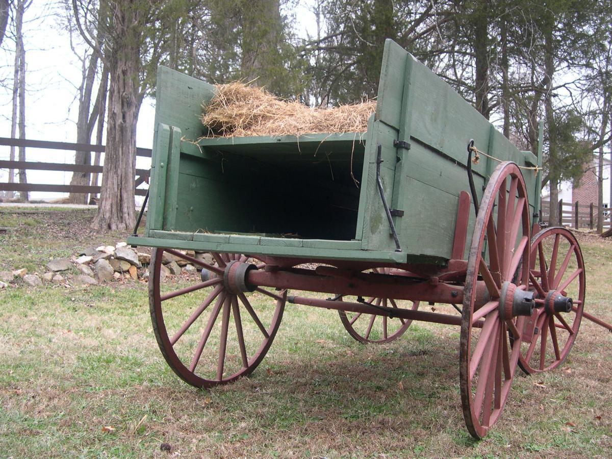 False-bottom wagon used by refugees