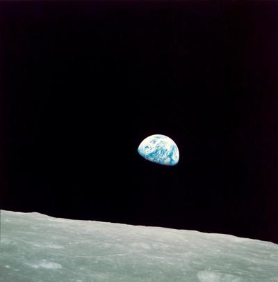 The most stirring photo from the Apollo mission wasn't of the moon - it was of the Earth