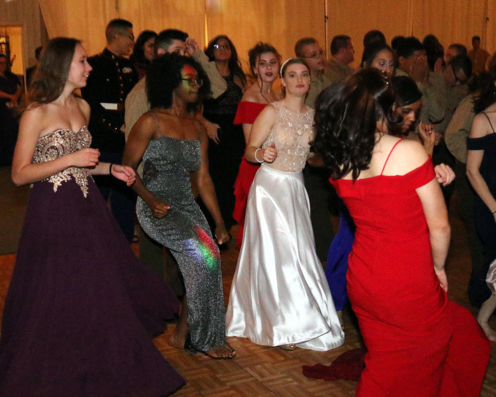 High School ROTC Ball Dresses