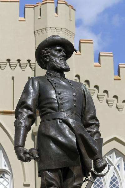 'Stonewall' Jackson statue at VMI