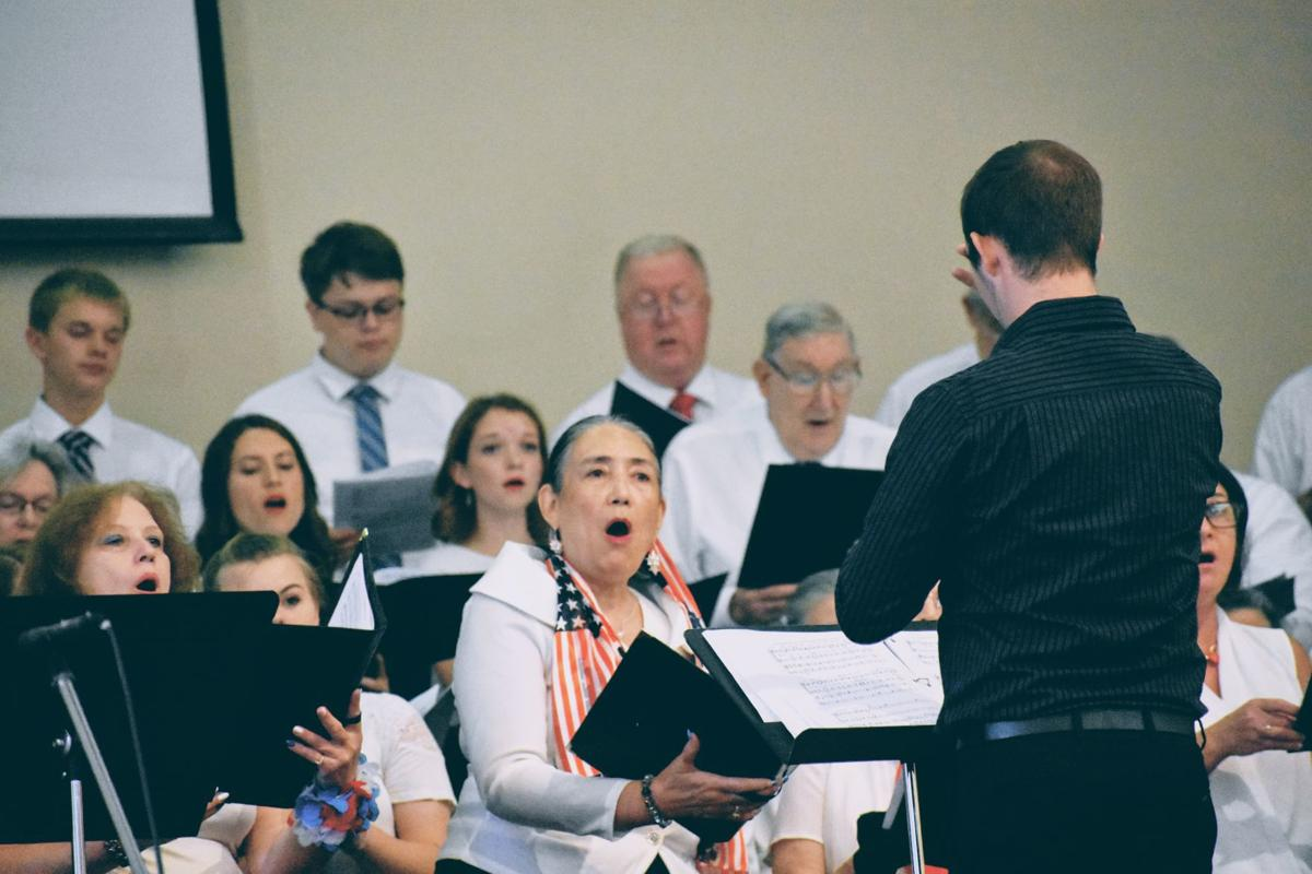 Celebrating America interfaith choir
