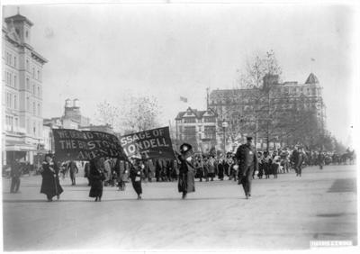 Woman Suffrage parade in 1913 (copy)