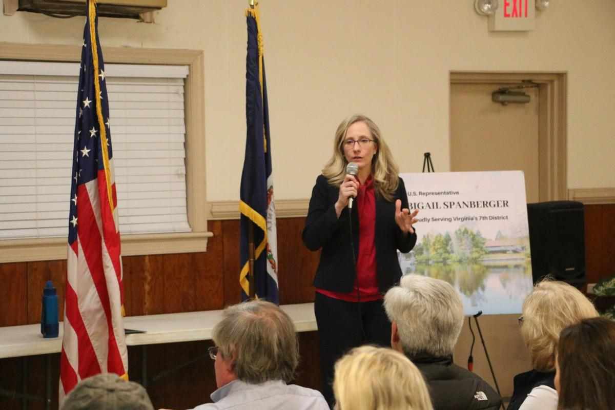 Abigail Spanberger at Goochland town hall