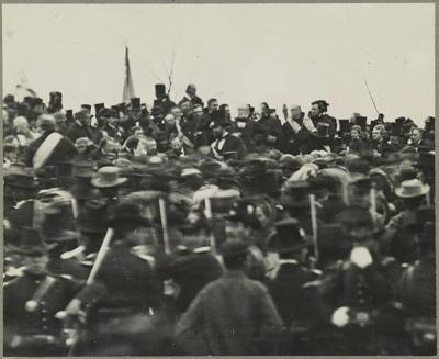 PHOTO: Lincoln at Gettysburg (copy)