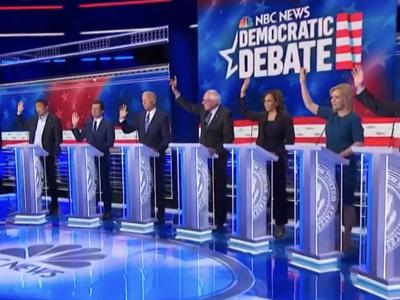 PHOTO: Democratic debate (copy)