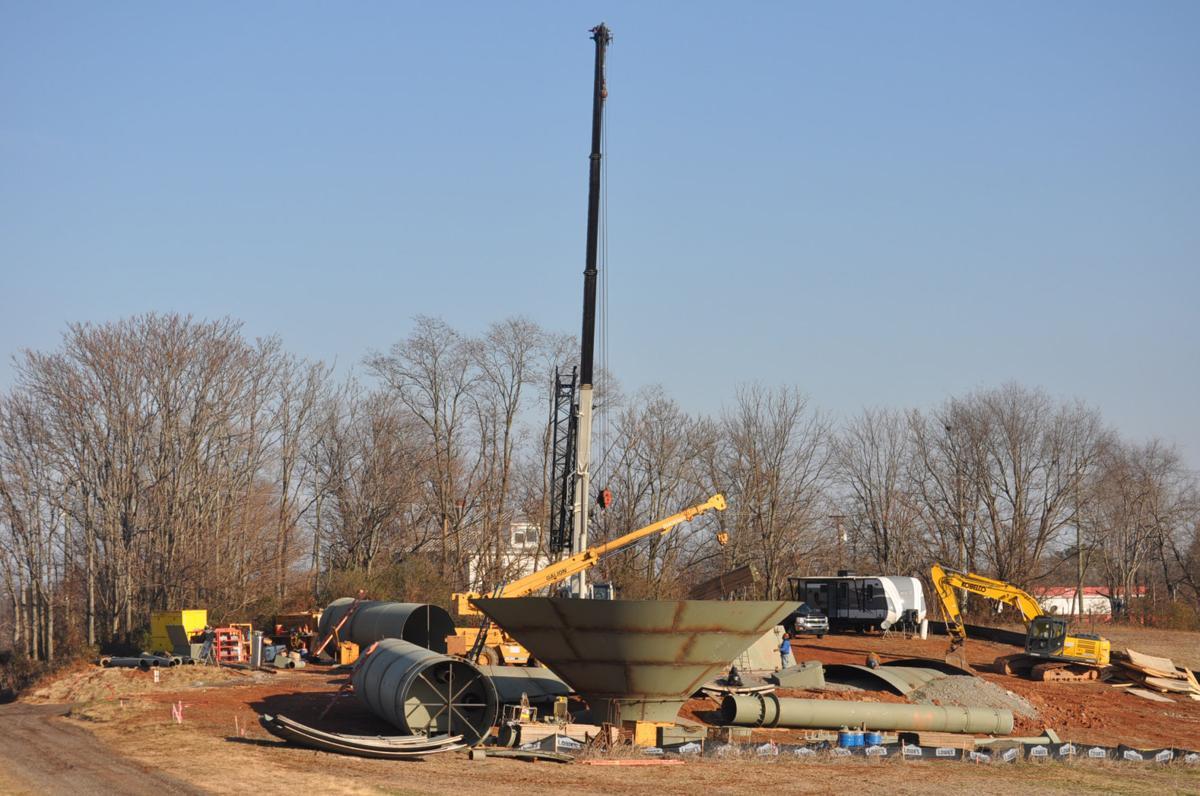 New Culpeper water tank rising from farmland | News | starexponent com