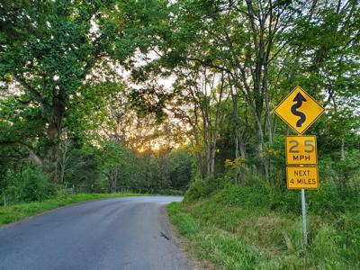 Culpeper winding road