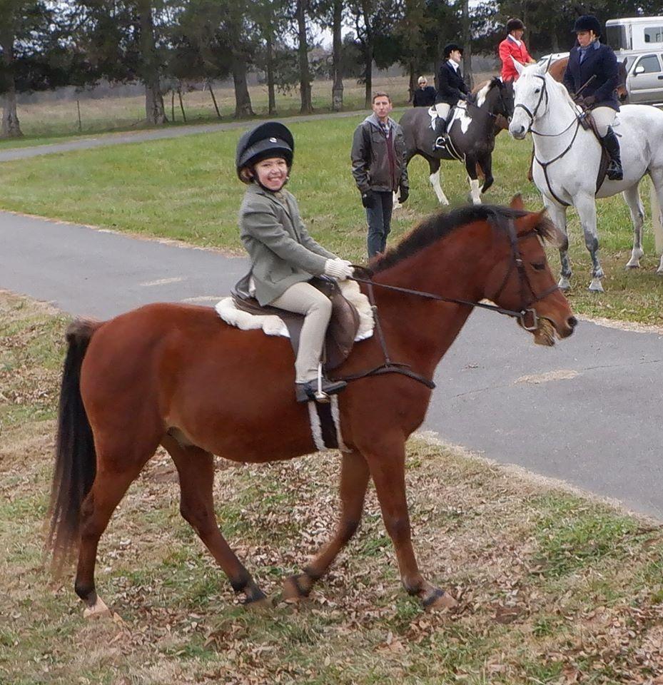 A junior equestrian