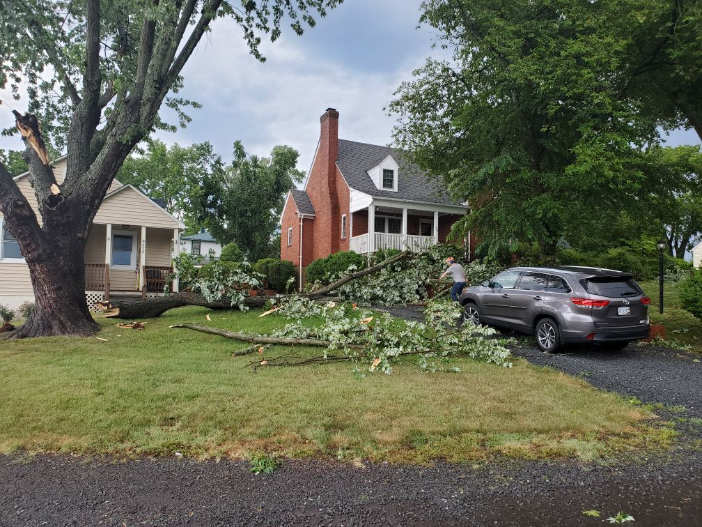 Storm Culpeper close call