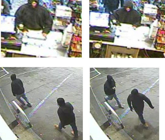 Shell store robbery