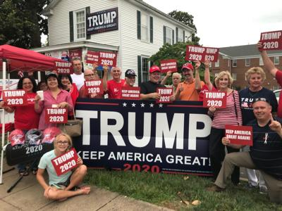 Culpeper Republicans show their support for Trump (copy)