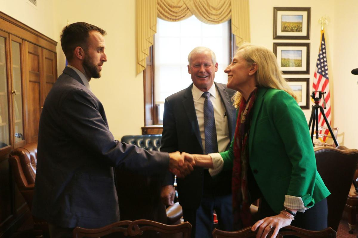 Witnesses meet Rep. Abigail Spanberger