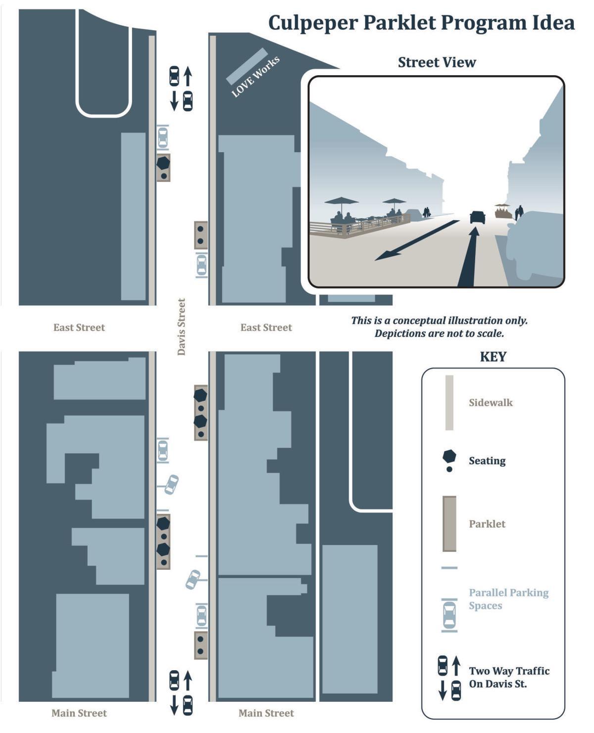 Parklet map