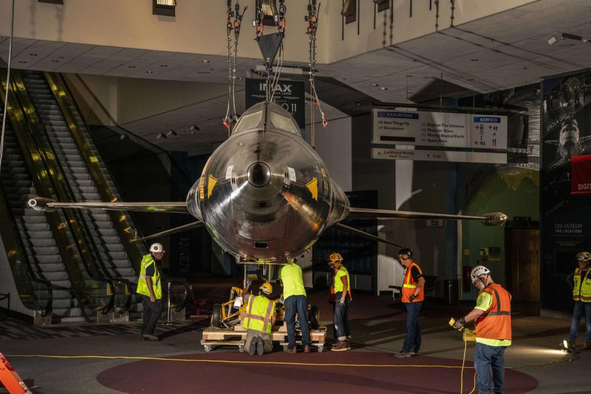 Smithsonian's legendary X-15 heads for storage during renovations. Here's a history.
