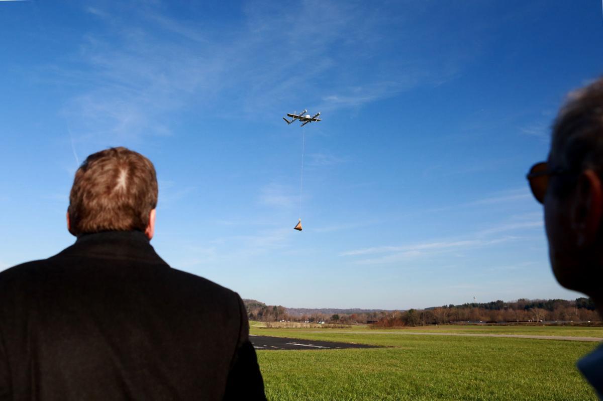 mg drone demo 111618
