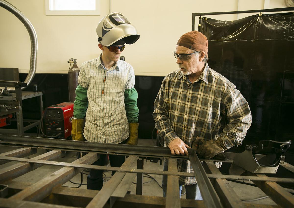 Rappahannock Community College welding program