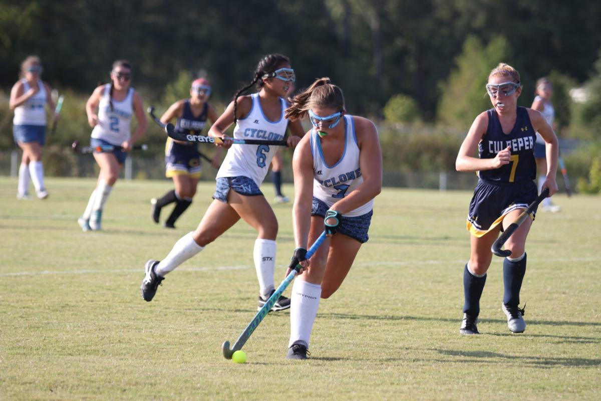 Sarah Hatfield EVHS field hockey