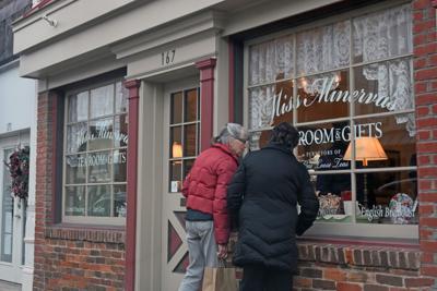 Black Friday Culpeper Miss Minerva's window
