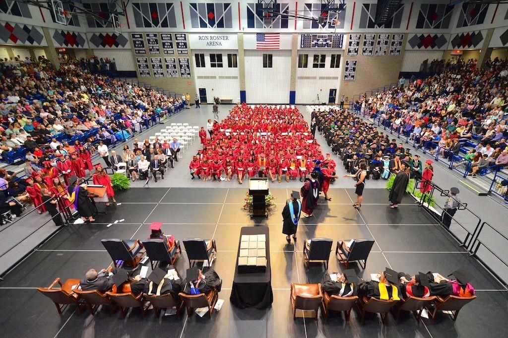Germanna Community College graduation at UMW