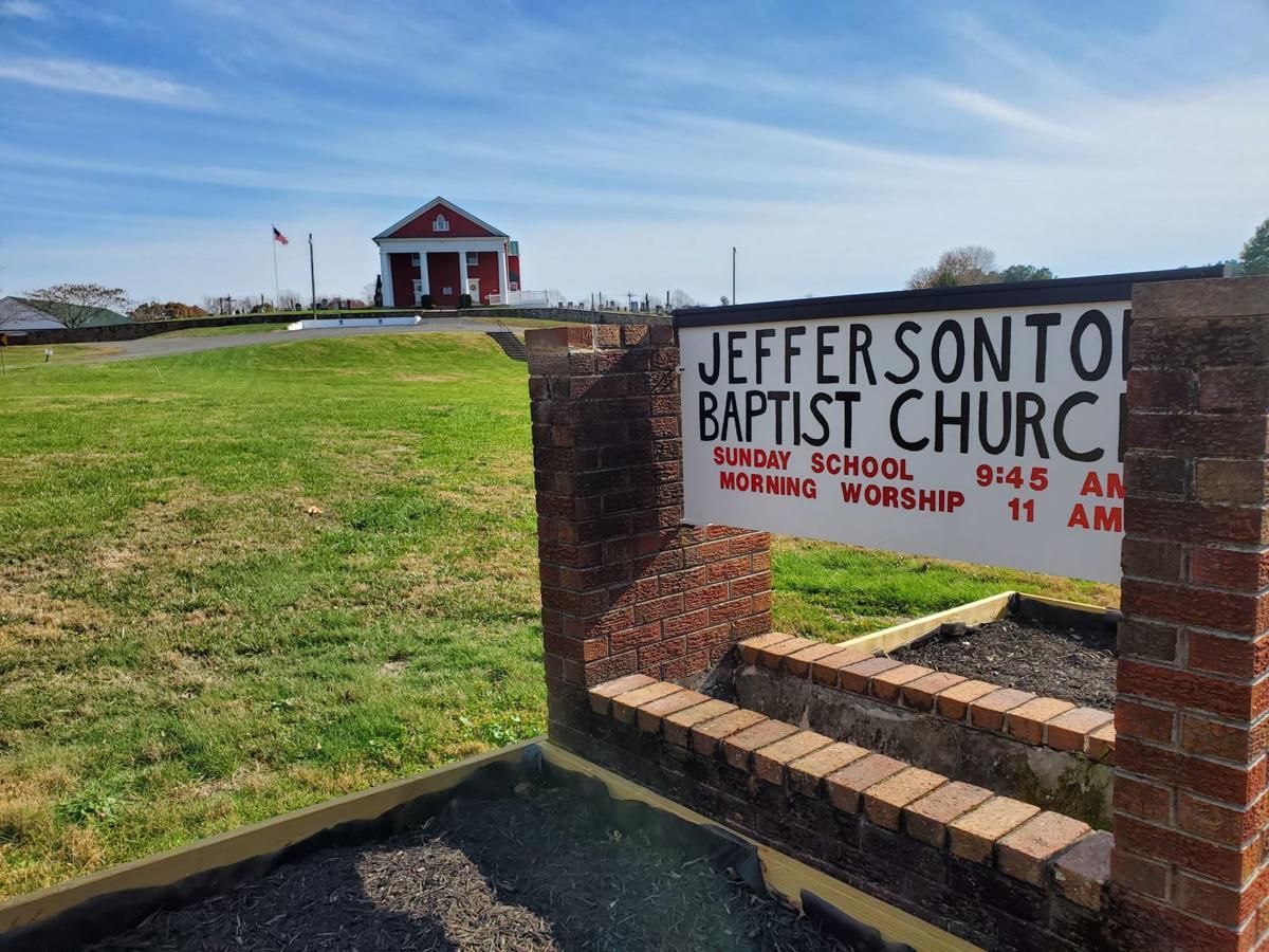 Jeffersonton Baptist Church Culpeper County