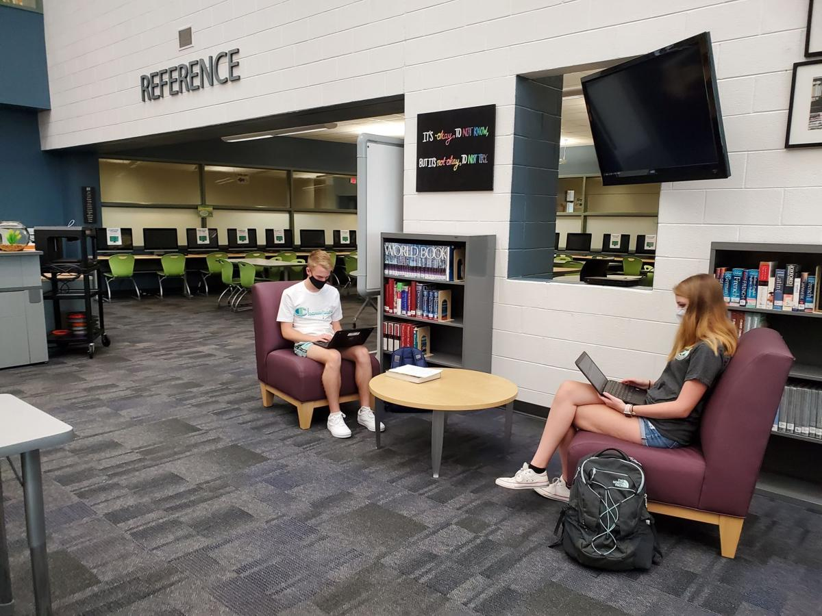 Virtual classes at Eastern View High School (copy)