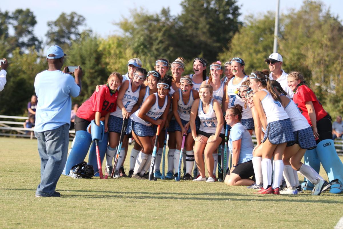 Field Hockey congrats to Sarah Hatfield on 100th goal