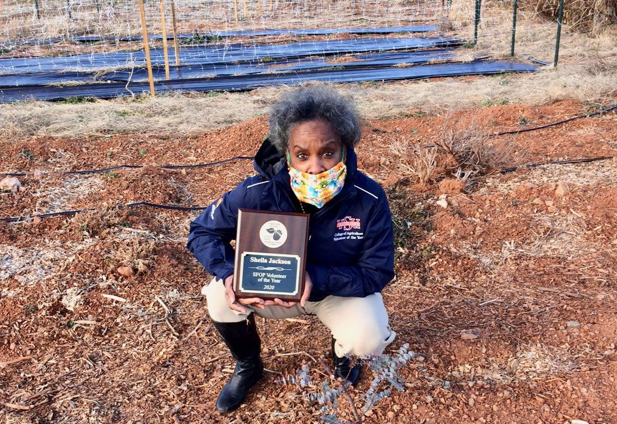 Sheila Jackson, SFOP Volunteer of the Year