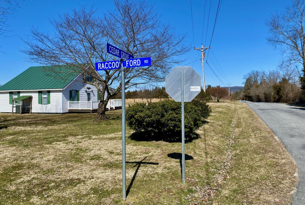 Cedar Grove Road and Raccoon Ford Road