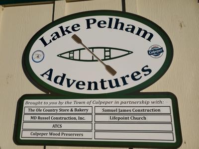 Lake Pelham Adventures sign (copy)