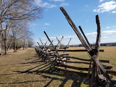 Cedar Mountain battlefield road winter (copy)