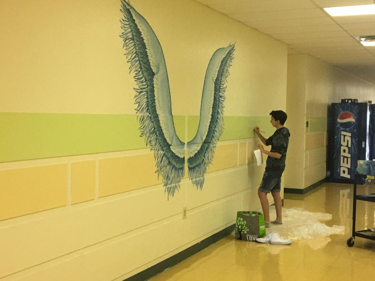Taking flight: Local artist creates \'selfie wings\' for schools ...