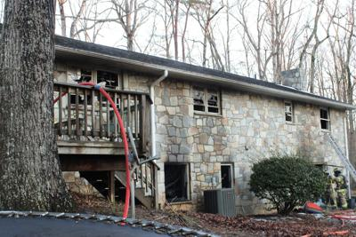 West Rocky Run Road house fire (copy)