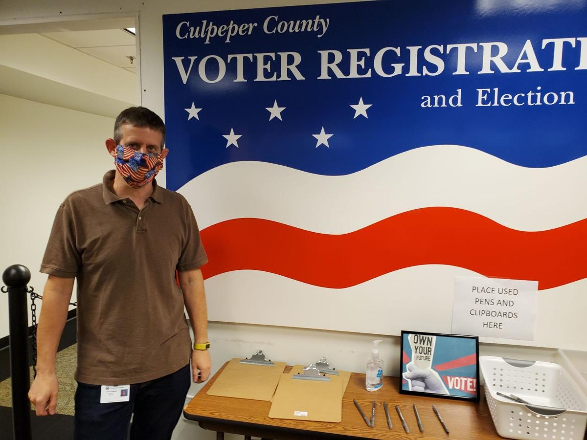 Culpeper County Elections office James Clements (copy)