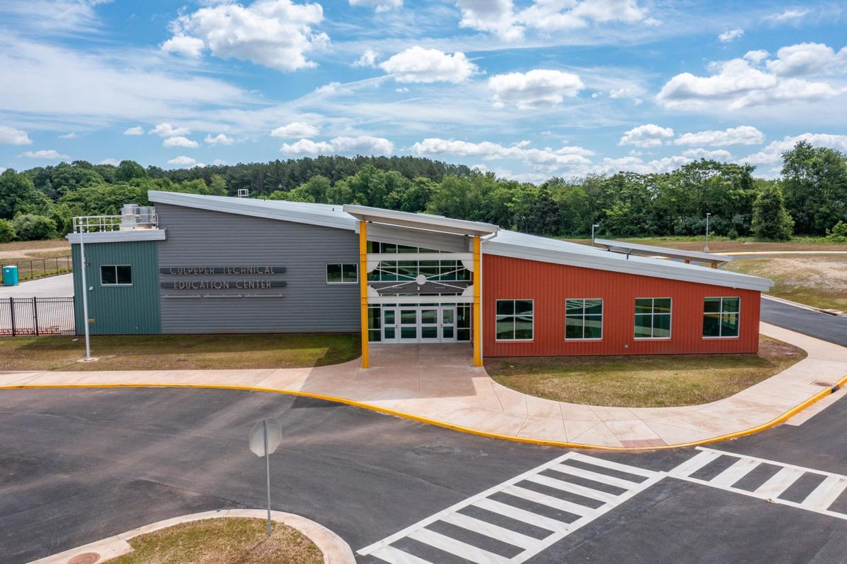 CTEC Culpeper Technical Education Center pre-opening Shaun