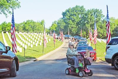 Flag-In Day at Culpeper National Cemetery