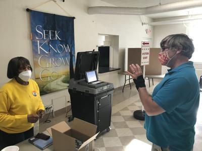 West Fairfax Precinct Culpeper clerk election (copy)