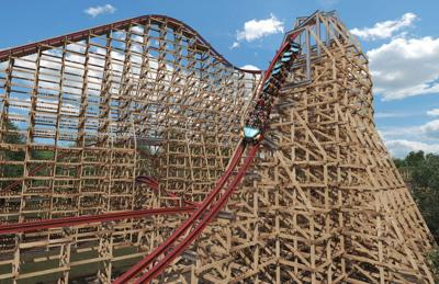 New Wood And Steel Roller Coaster Coming In 2018 To Kings Dominion