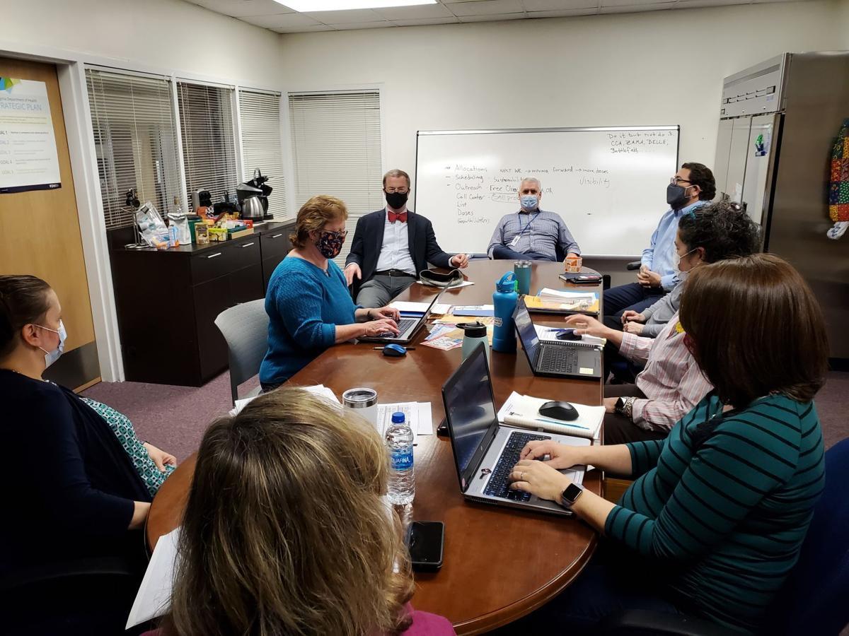 BBB RRHD staff meets Dr. Greene March 1, 2021