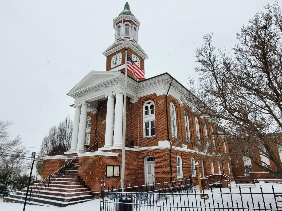 Snow Culpeper Courthouse (copy) (copy)